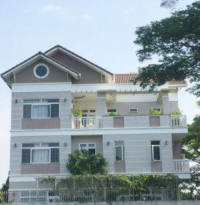 Công trình villa Thủ Thiêm Quận 2 (anh Xanh)