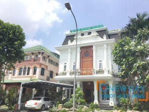 Công trình cửa lưới chống muỗi villa Lan Anh quận 2 (anh Quang)