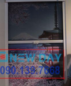 Cửa sổ chống muỗi tự cuốn Seiki